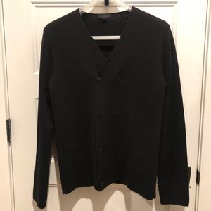 COS Double-breasted Wool Knit Cardigan